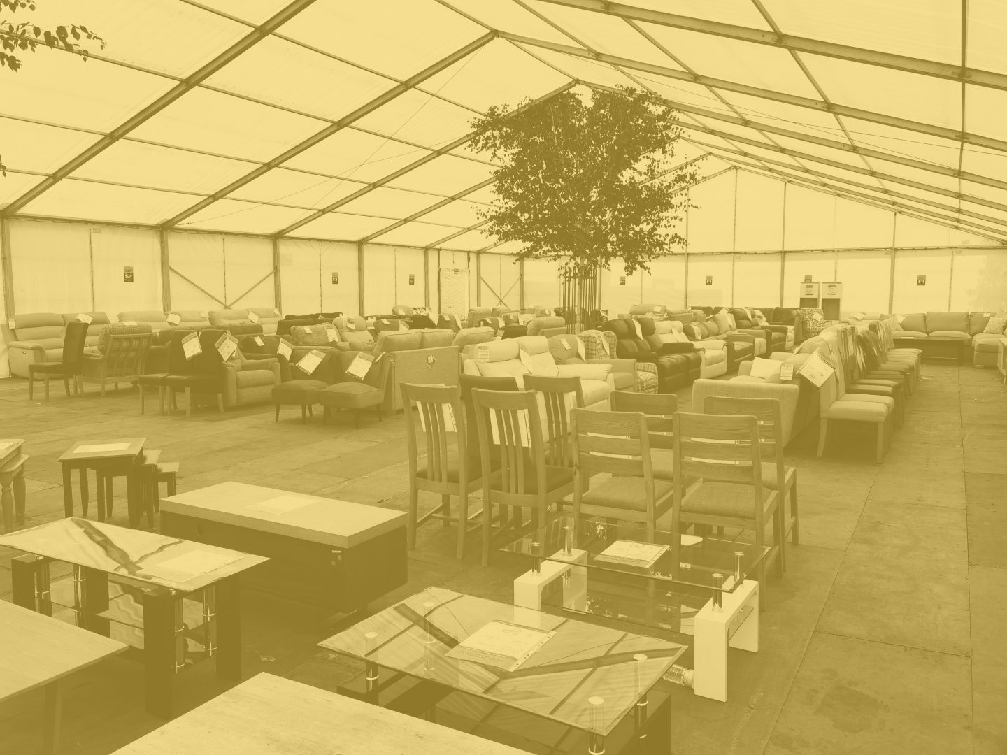 The Big Marquee Clearance Sale