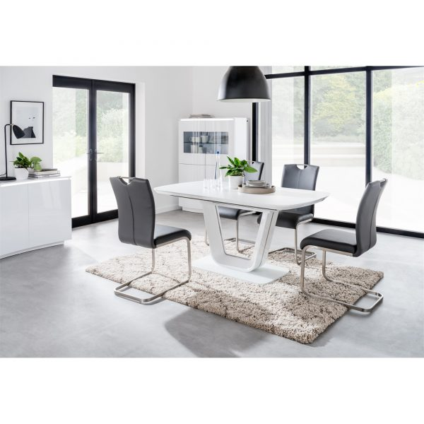 coppinger-closed-table-white-four-grey-chairs-roomset