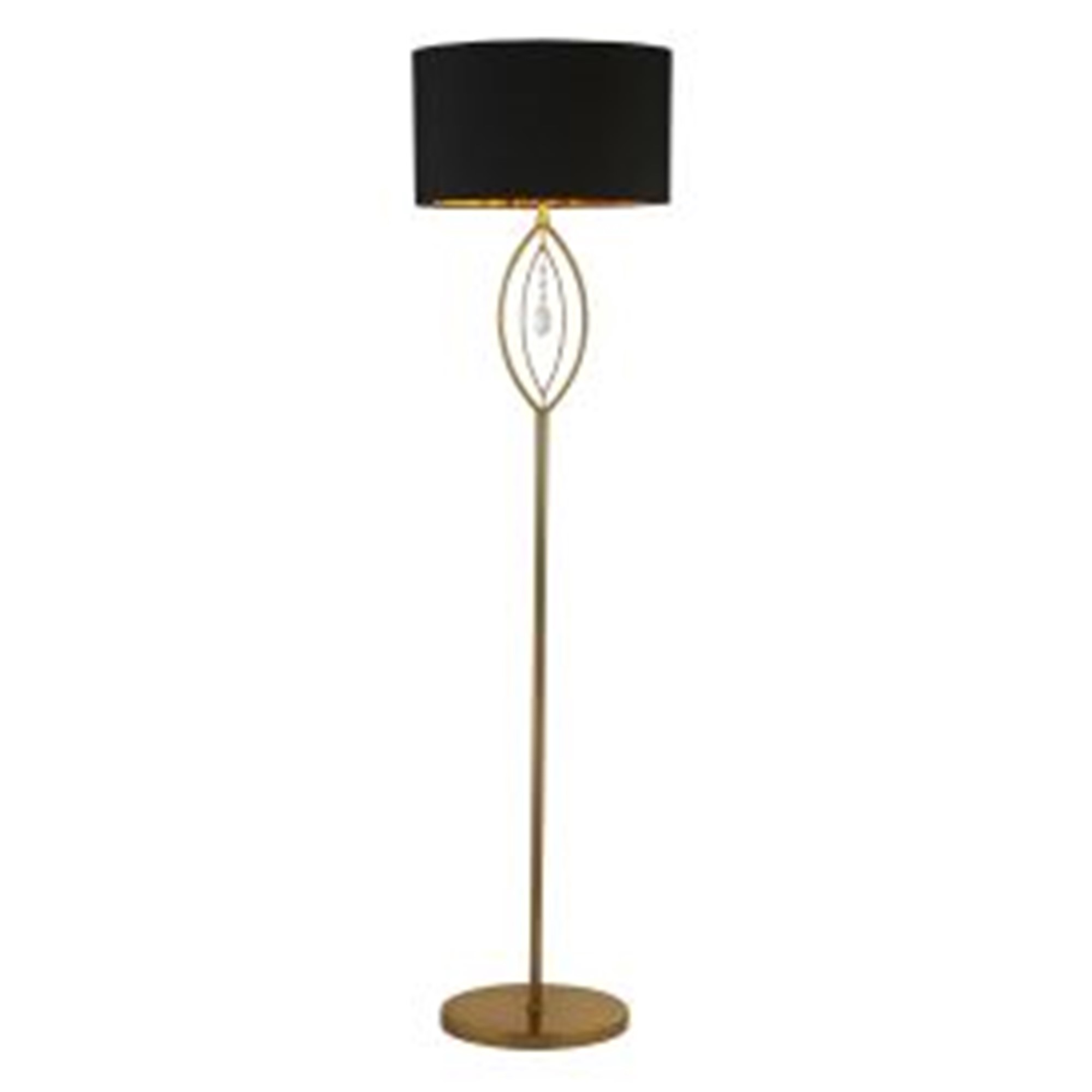 Crown Floor Lamp Gold Bulb Not Included Roomes Furniture Interiors Make Yourself A Home