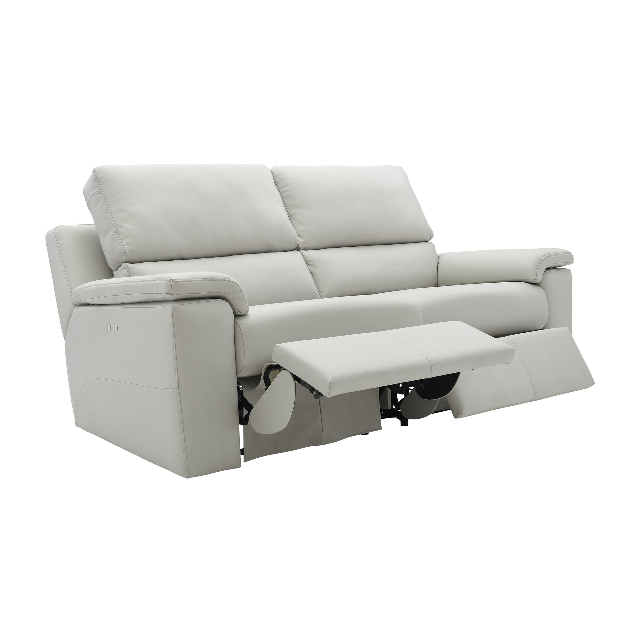 Brilliant 3 Seater Electric Recliner Double Leather K Ibusinesslaw Wood Chair Design Ideas Ibusinesslaworg
